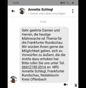 fr anfrage